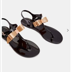 Ted Baker TEIYA Bow detail jelly sandals